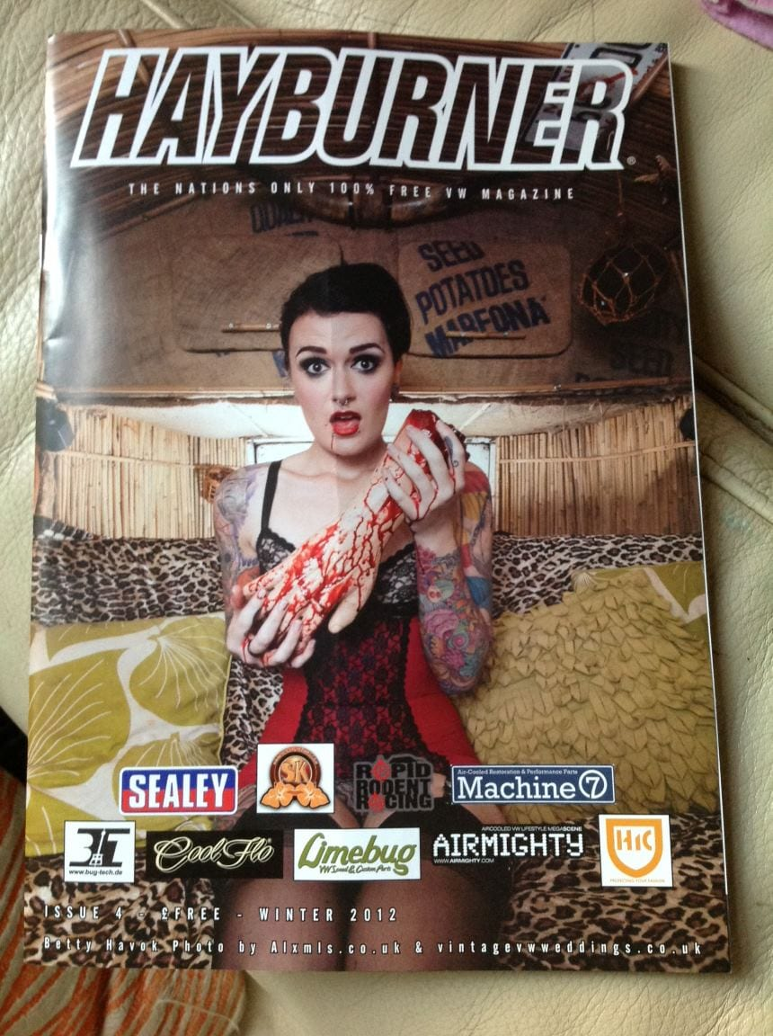 Hayburner Cover with Betty Havok