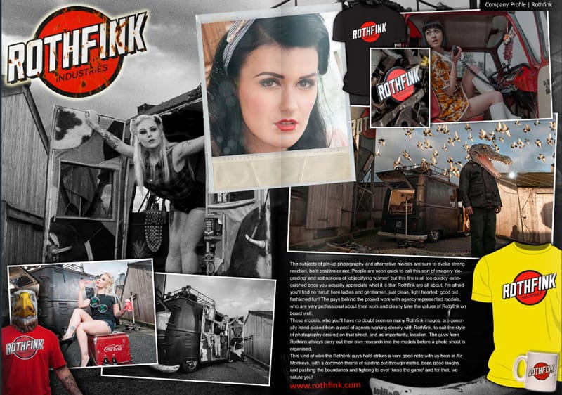 Rothfink featured in Airmonkeys Magazine issue 8
