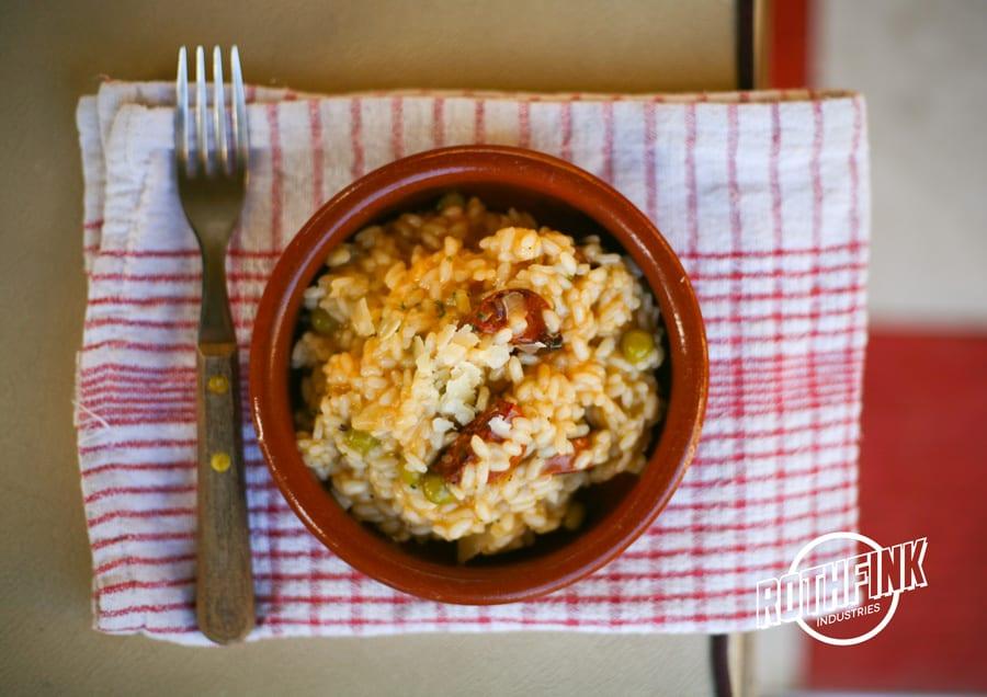 Emergency Chorizo Risotto