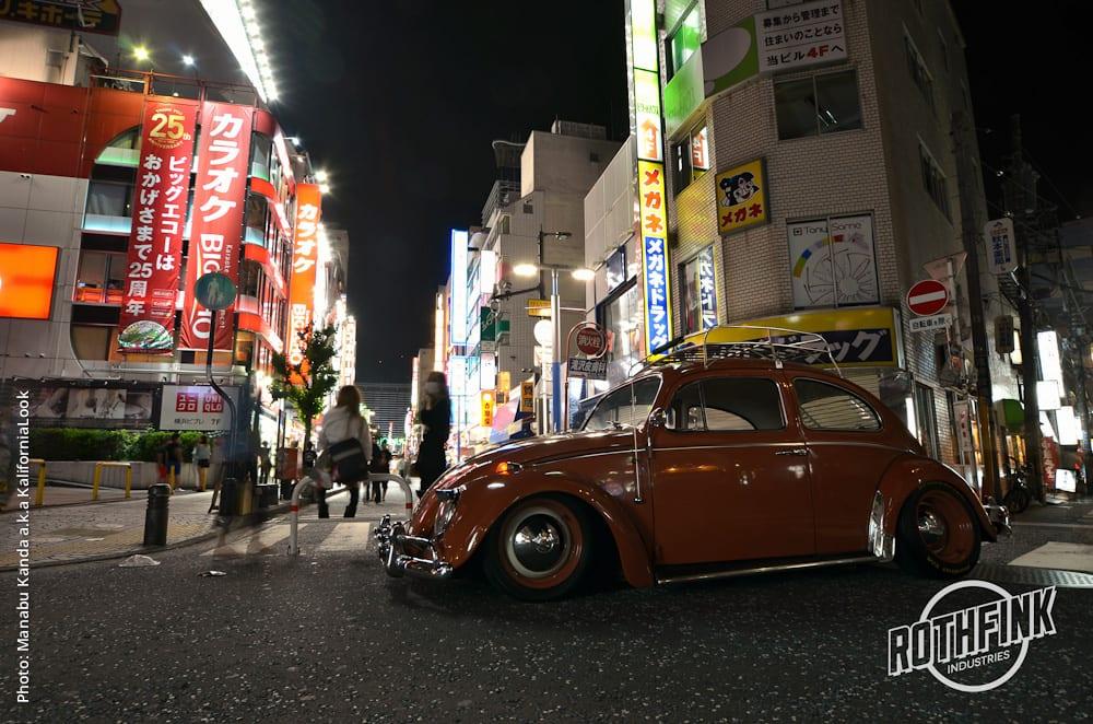 In Profile: Hides – '1964 Slammed Beetle'  Japan