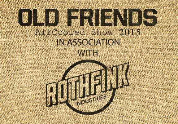 old friends vw show - aircooled - in association with Rothfink