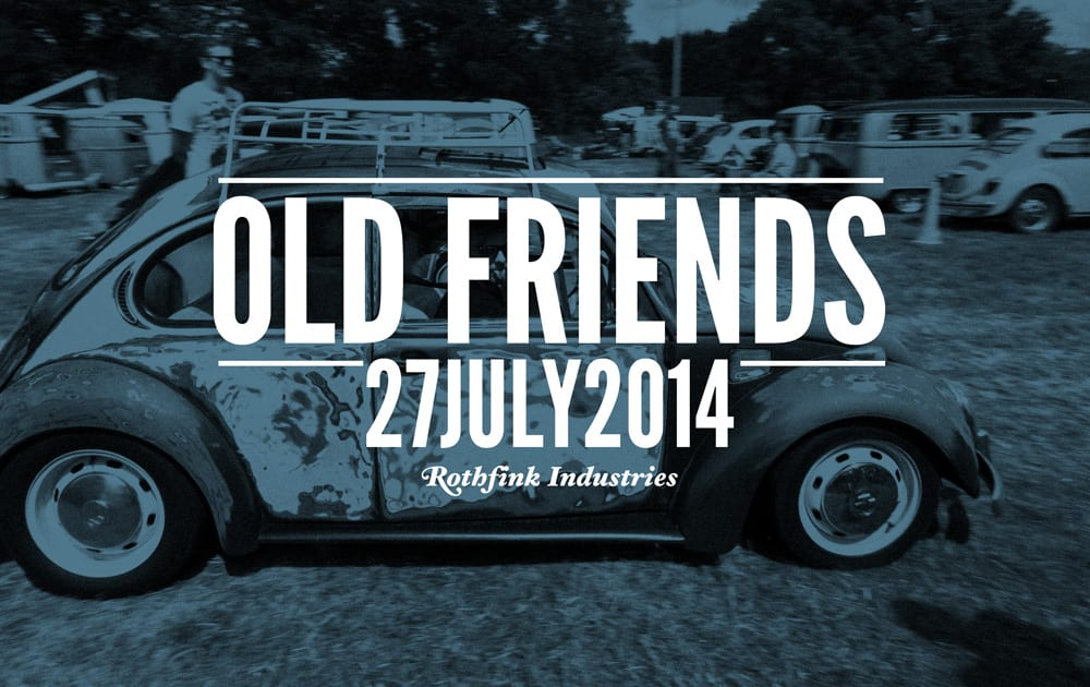 old friends vw aircooled show 2014