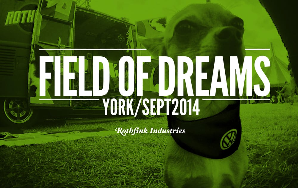 Field of Dreams – Aircooled Show, September 2014
