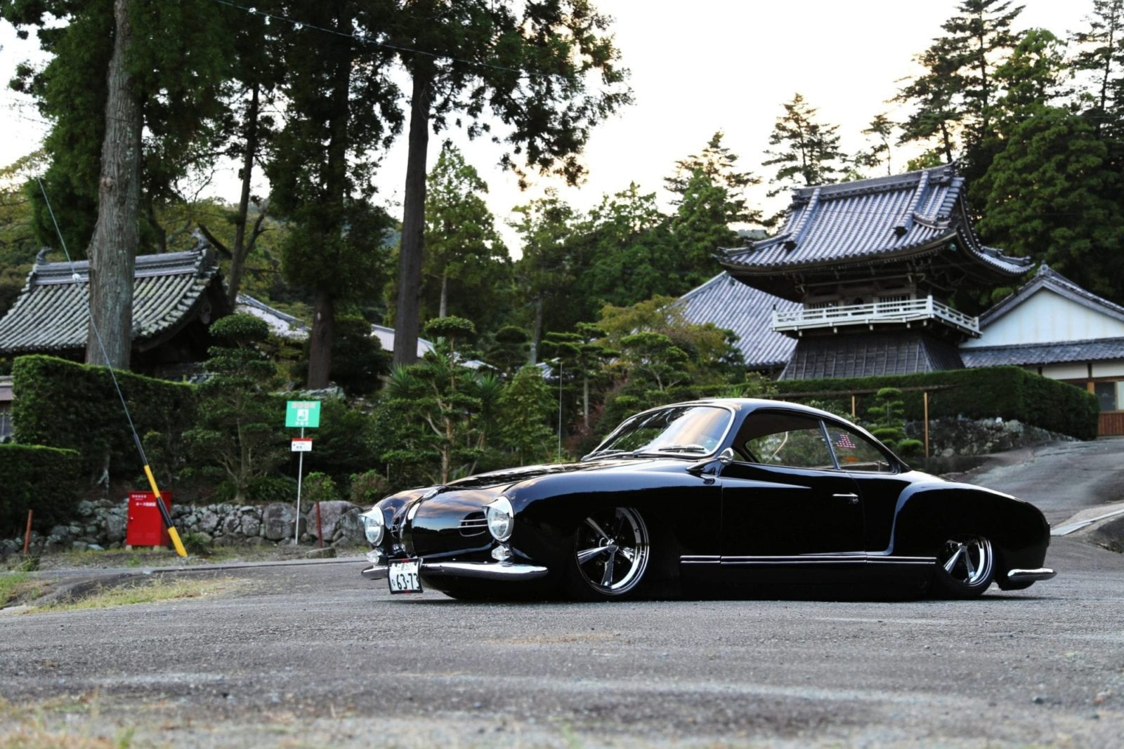 Inprofile: Yuki's – 1958 Lowlight Karmann Ghia – japan
