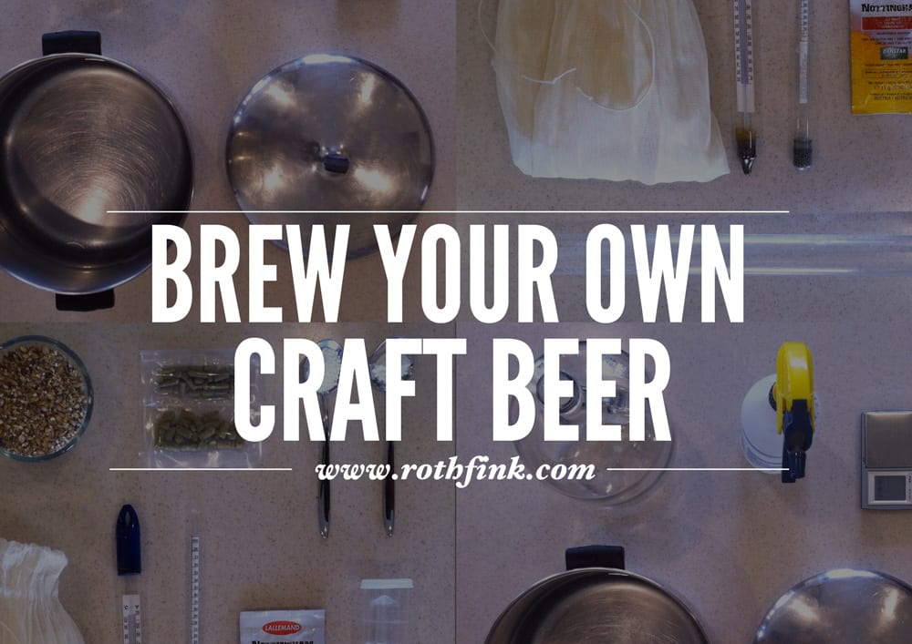 How to brew your own craft beer