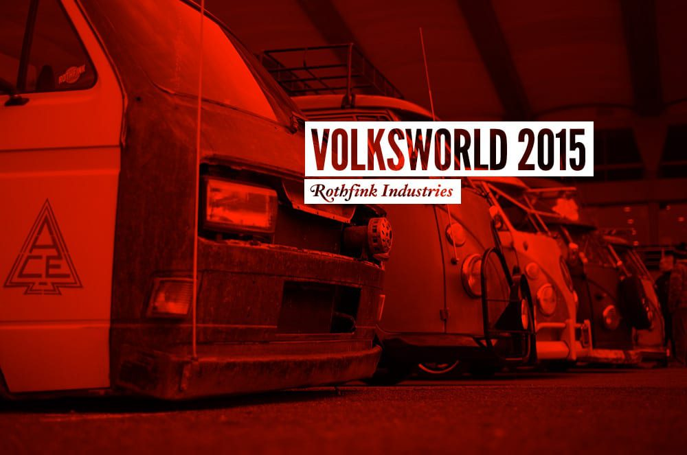 Rothfink Industries at Volksworld 2015