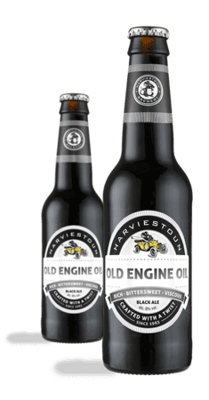 Harviestoun engine oil