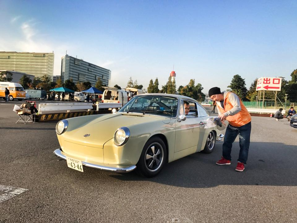 IN PROFILE: Hotaka Saito – 1968 Porsche/Type 3 Fastback 913