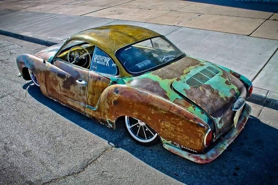 INPROFILE: CARLOS 'C-LOW'S' – 1961 KARMANN GHIA 'BETTY RUSTY'