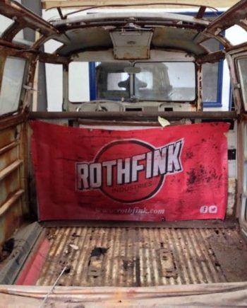 Rothfink workshop banner