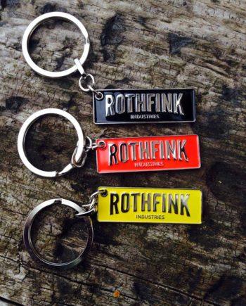 Rothfink Boxster Logo keyring