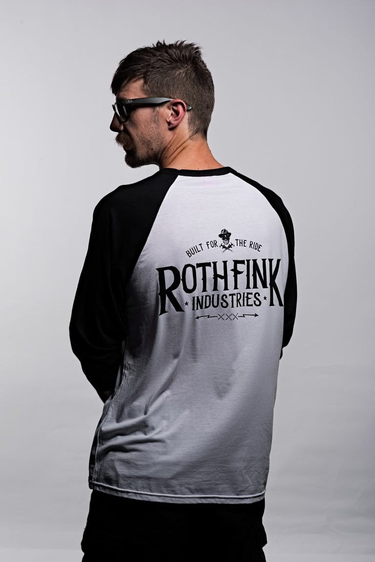 Rothfink Varsity Long Sleeved Whiskey Teeshirt