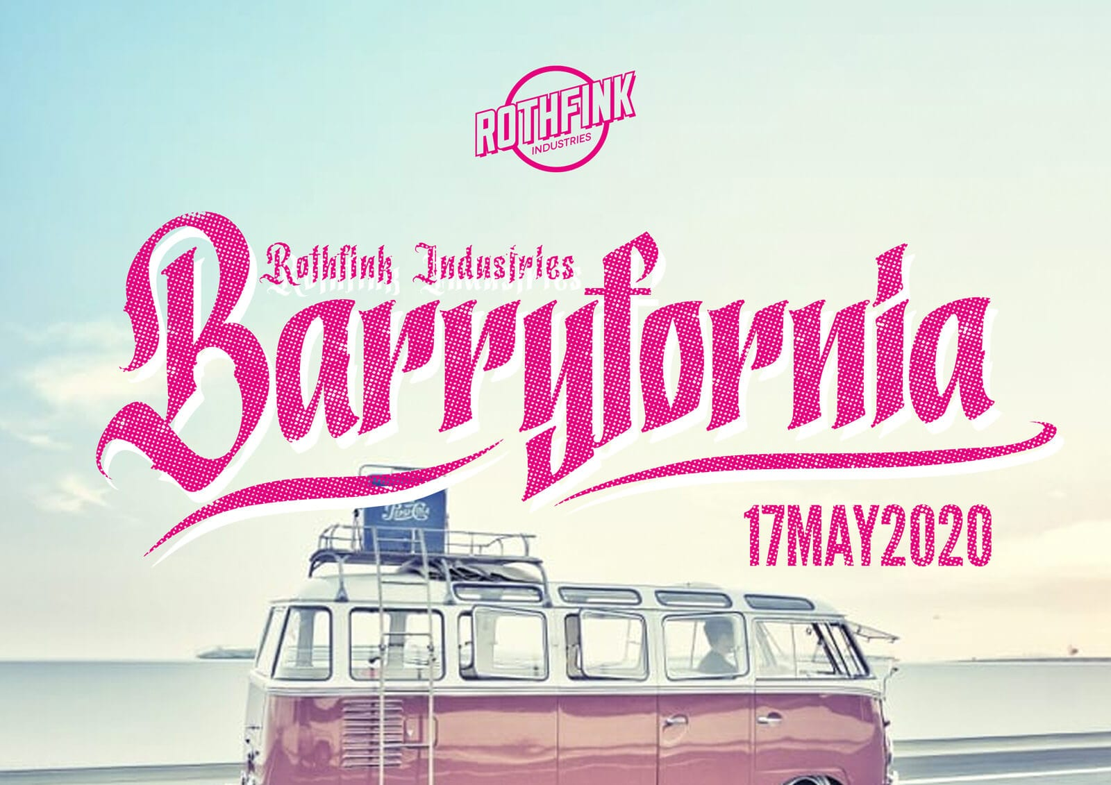Rothfink Industries presents Barryfornia – an aircooled event at Barry Island – 17 May 2020