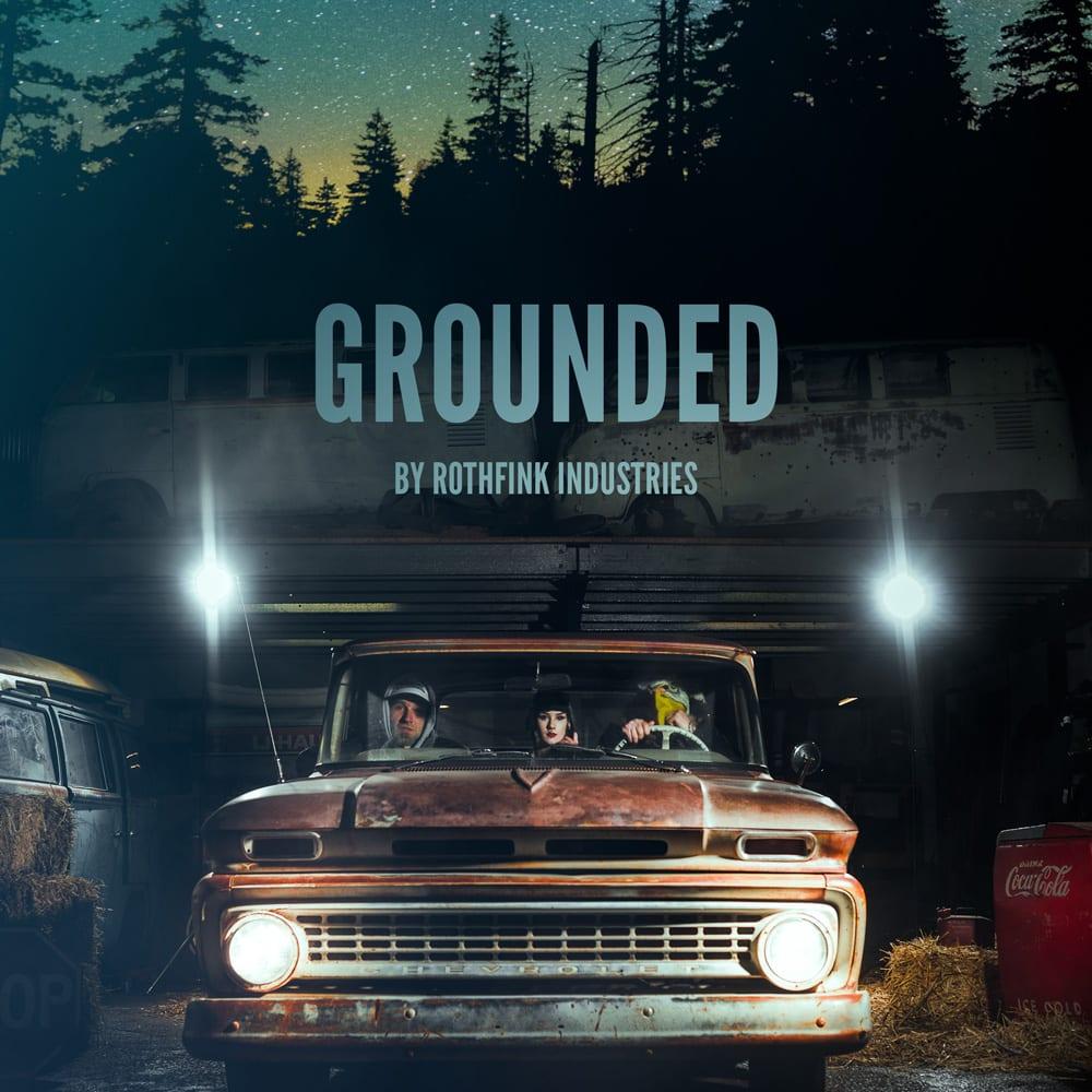 'Grounded' mixtape – an old school / new school hip hop mix