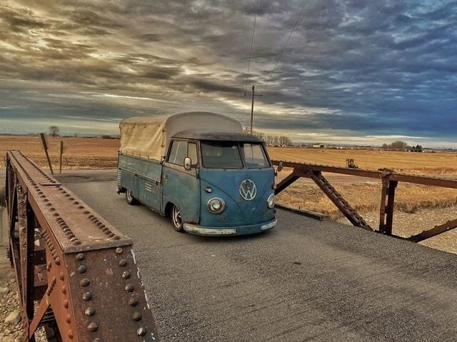IN PROFILE: KYLE'S -1956 SINGLE CAB SPLITSCREEN.