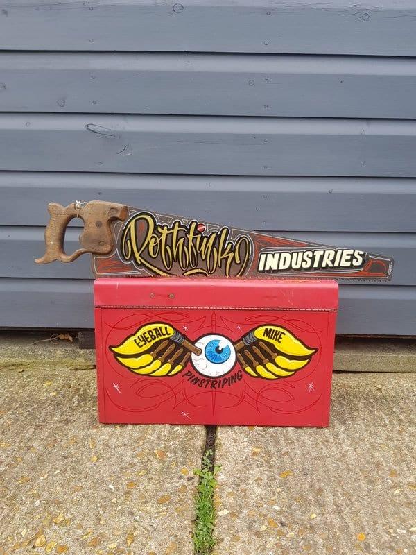 Rothfink x Pinstripe Mike